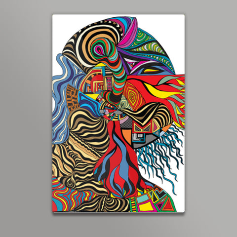 Psychedelic mania! Metal Prints | Artist : Jessica Maria