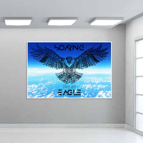 Soaring Eagle | The Ultimate Giant Poster | Artist : Pragya Bhandari
