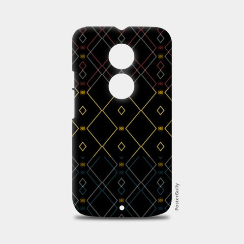 Pattern design in black Moto X2 Cases | Artist : Amar Singha