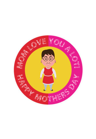 Mom Love You A Lot! Art PosterGully Specials