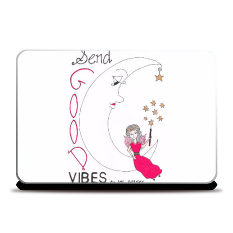 Laptop Skins, Good Vibes Laptop Skin | Artist: Janeesha, - PosterGully