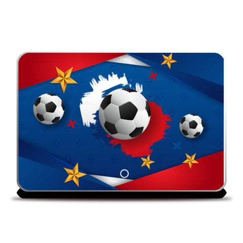 Football Artwork | #Footballfan Laptop Skins | Artist : Creative DJ