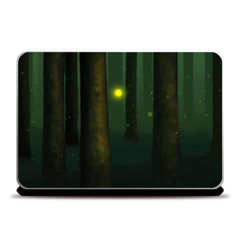 That strange bright light. Laptop Skins | Artist : devika art