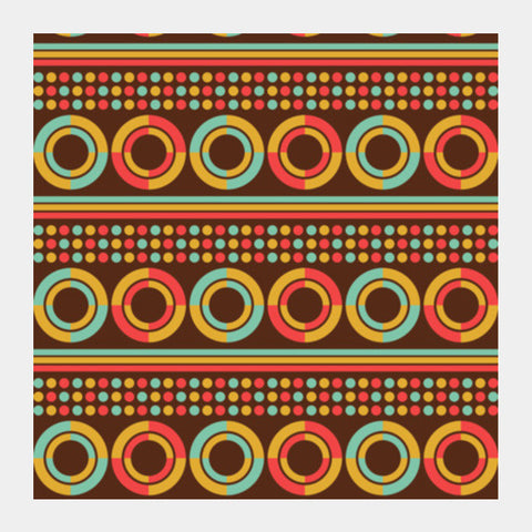 Vintage Retro Geometric Square Art Prints PosterGully Specials