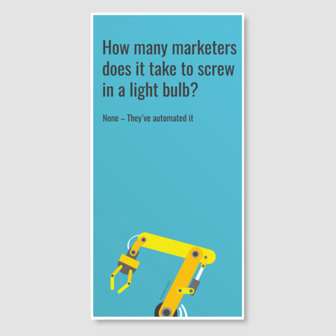 Marketers Door Poster | Artist : Scatterred Partikles
