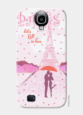 Paris-Fall in Love Samsung S4 Cases | Artist : Abhishek Kanungo