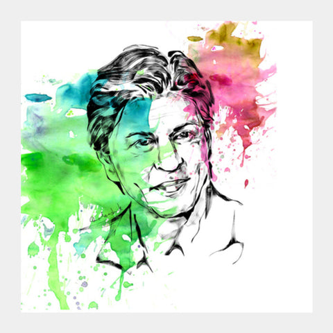 Square Art Prints, shahrukh Square Art Prints | Artist : Pradeesh K, - PosterGully