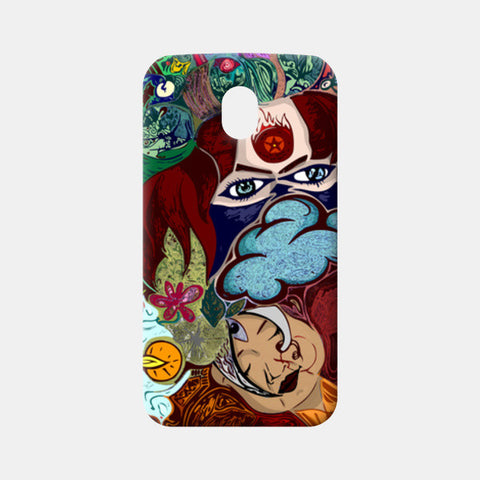 Moto G3 Cases, Time Moto G3 Cases | Artist : Hriddhi Dey, - PosterGully