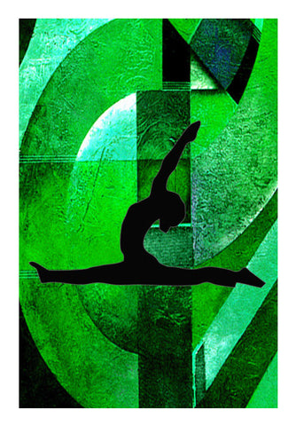 Yoga Everyday Wall Art | Artist : Rupam Shah