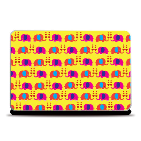 Laptop Skins, Elephant Love Laptop Skin | Artist: Pratyusha Subramaniam, - PosterGully