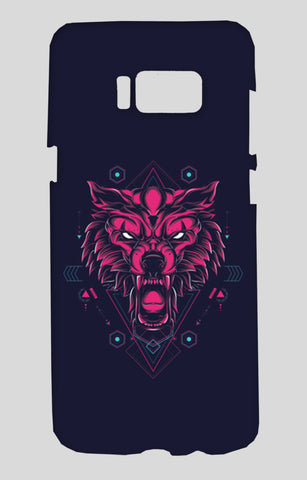 The Wolf Samsung Galaxy S8 Cases | Artist : Inderpreet Singh