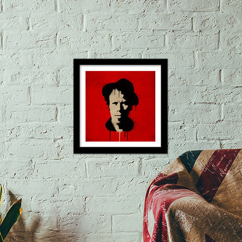 Premium Square Italian Wooden Frames, Bad as me Premium Square Italian Wooden Frames | Artist : Durro Art, - PosterGully - 1