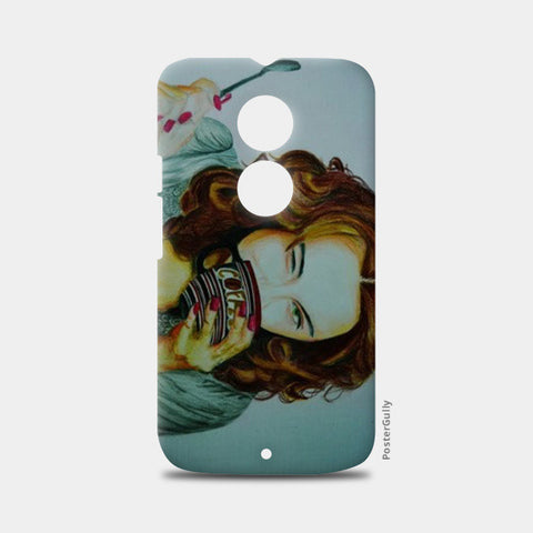 Moto X2 Cases, HappinessIs Coffee Moto X2 Case | Artist : Chahat Suri, - PosterGully