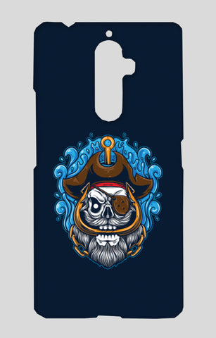 Skull Cartoon Pirate Lenovo K8 Note Cases | Artist : Inderpreet Singh