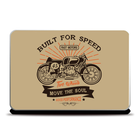 Motorcycle Club 2 Laptop Skins | Artist : Inderpreet Singh