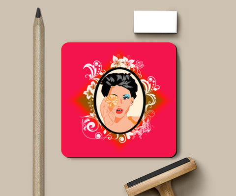 Mirror Mirror On The Wall...!! Coasters | Artist : Design_Dazzlers