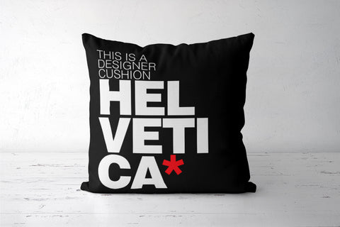 Helvetica love Cushion Covers | Artist : Keepcalm Prints