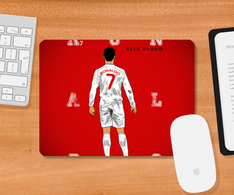 Mousepad, Cristiano Ronaldo Mousepad | Artist : Sourab Biswas, - PosterGully