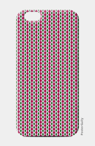 Retro Geometric Diamond Stripes Pattern iPhone 6/6S Cases | Artist : Seema Hooda