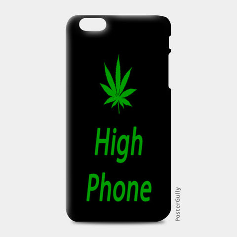 iPhone 6 Plus / 6s Plus Cases, High Phone - Black iPhone 6 Plus / 6s Plus Cases | Artist : Hozefa Kutiyanawala, - PosterGully