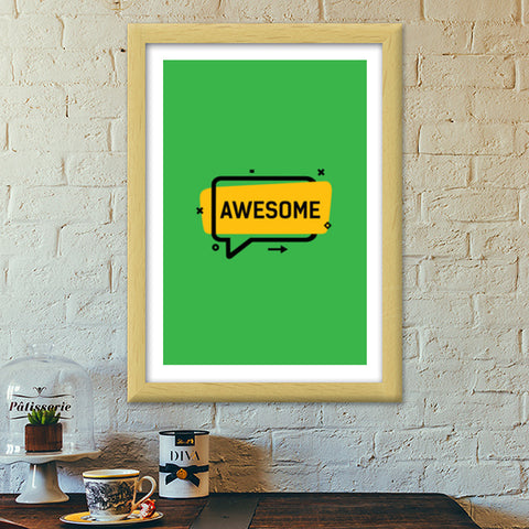 Awesome Premium Italian Wooden Frames | Artist : Inderpreet Singh