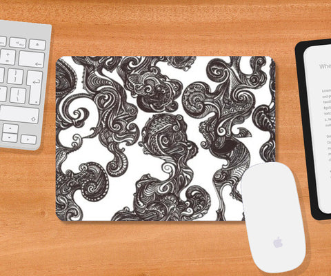 Mousepad, Swirly Doodle Mouse Pad Mousepad | Artist : Aniruddha De, - PosterGully