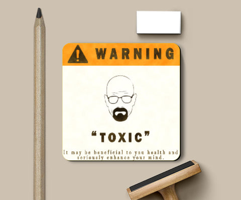 Coasters, Breaking Bad Toxic Coaster | Artist: Shivam Dhuria, - PosterGully