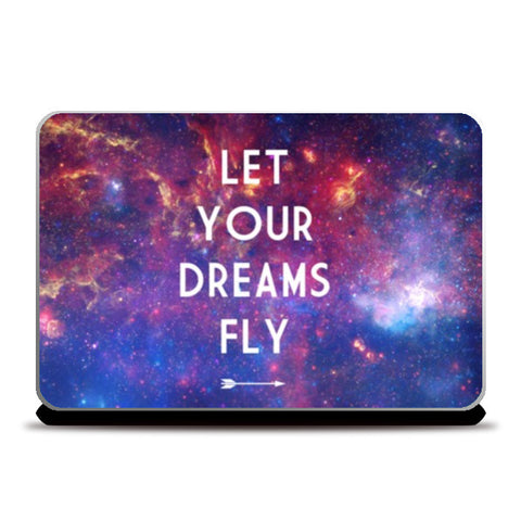 Laptop Skins, Let Your Dreams Fly Laptop Skins | Artist : Suraaj Ajithakumar, - PosterGully