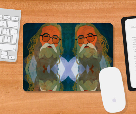 Intact Spirit - Indian Man Mousepad | Artist : Rameshwar Chawla