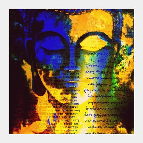 Buddha! Square Art Prints | Artist : Rockpire Designs