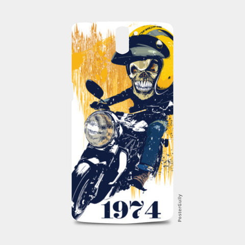 skull rider One Plus One Cases | Artist : abhijeet sinha