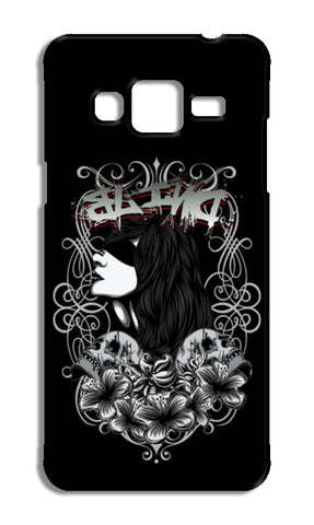 Women With Tattoo Flower Samsung Galaxy J3 2016 Cases | Artist : Inderpreet Singh