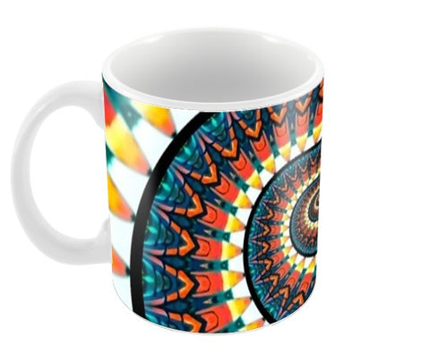Spiral Print Coffee Mugs | Artist : Delusion