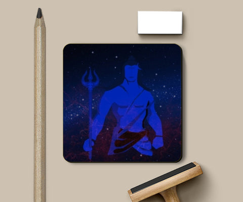 Lord Shiva Coasters | Artist : Tiny Dots