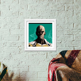Premium Square Italian Wooden Frames, One Punch Man Premium Square Italian Wooden Frames | Artist : Shashanka Beshra, - PosterGully - 6