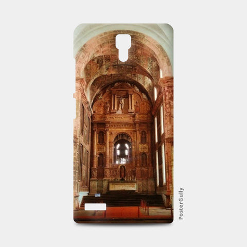 Redmi Note Cases, St. Francis of Asisi, Goa Redmi Note Cases | Artist : Yagneswar Vamsi, - PosterGully