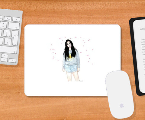 Stay Pretty Mousepad | Artist : Kabi Nyori