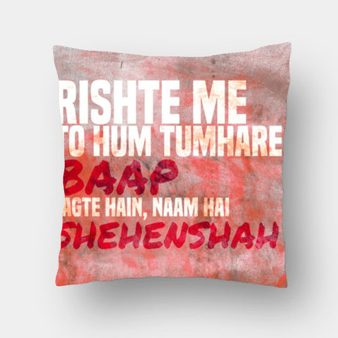 Cushion Covers, Amitabh Bachchan Epic Dialogues 6 Cushion Covers | Artist : Rashi Srivastava, - PosterGully