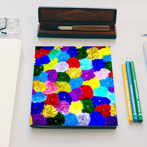 Abstract Colours  Notebook | Artist : Ajooni Singh