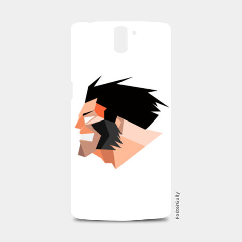wolverine 3d One Plus One Cases | Artist : rushabhbhatt12@gmail rushabh