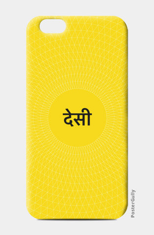 Desi - TheAverageDesi iPhone 6/6S Cases | Artist : The Average Desi