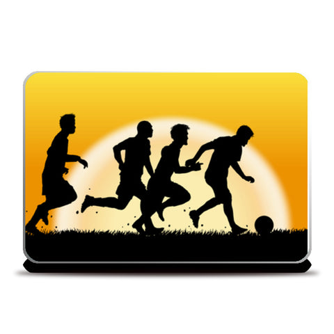 Sun Rising While Players Playing | #Footballfan Laptop Skins | Artist : Creative DJ