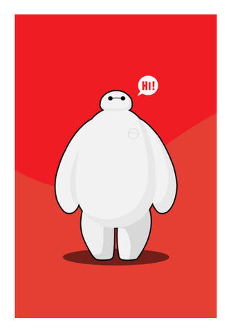 baymax Wall Art | Artist : NextDesigns