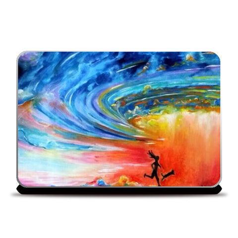 The storm Laptop Skins | Artist : Sukanya Chakraborty