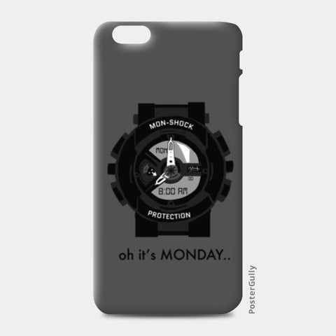 iPhone 6/6S Plus Cases, Monday shock iPhone 6 Plus/6S Plus Cases | Artist : Shravan Suresh, - PosterGully