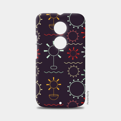Geometric art seamless  Moto X2 Cases | Artist : Designerchennai