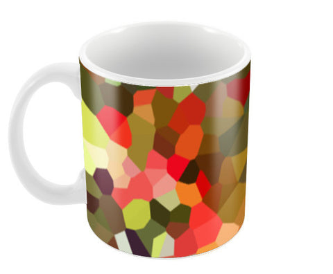 Abstract Mosaic Art Background Pattern Coffee Mugs | Artist : Seema Hooda