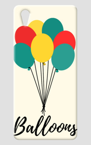 Colorful Balloons One Plus X Cases | Artist : Ankita Sharma
