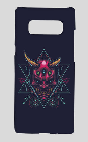 The Mask Samsung Galaxy Note 8 Cases | Artist : Inderpreet Singh