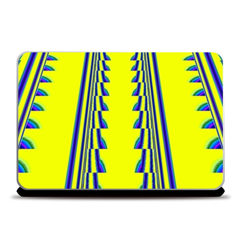 Laptop Skins, Double Track Laptop Skins | Artist : CK GANDHI, - PosterGully